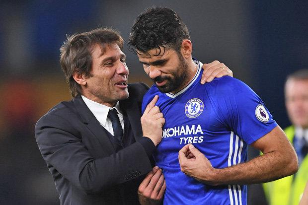 CHÍNH THỨC: Chelsea điền tên Costa vào danh sách thi đấu ở Ngoại hạng Anh