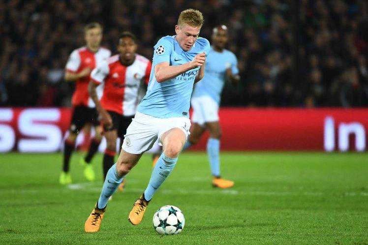 Hủy diệt Feyenoord, Pep đưa lại De Bruyne 'lên mây' - Bóng Đá