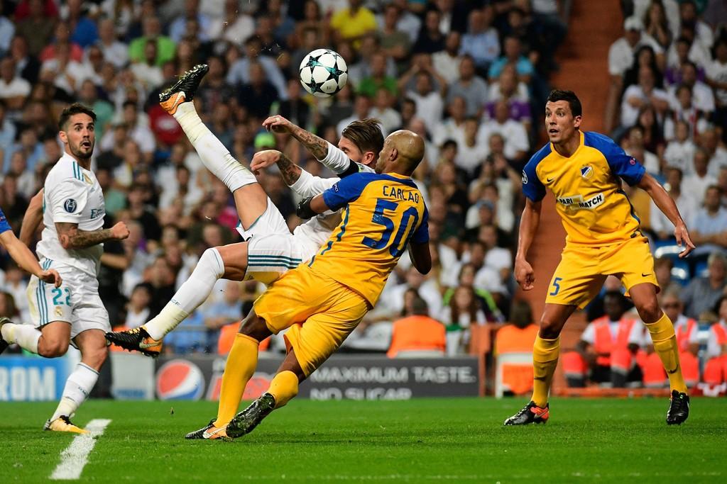 Ronaldo có cú đúp, Real Madrid thắng dễ APOEL Nicosia - Bóng Đá