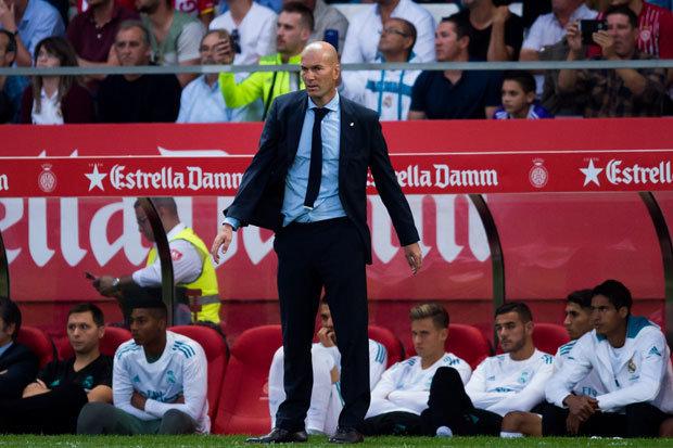 Zidane chỉ ra lí do khiến Real bại trận trước Girona - Bóng Đá
