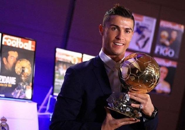 Vượt Messi và Neymar, Cristiano Ronaldo giành Ballon d'Or 2017 - Bóng Đá