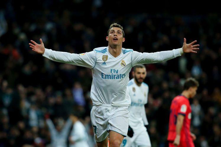 Cristiano Ronaldo lập thành tích vô tiền khoáng hậu cùng Real - Bóng Đá