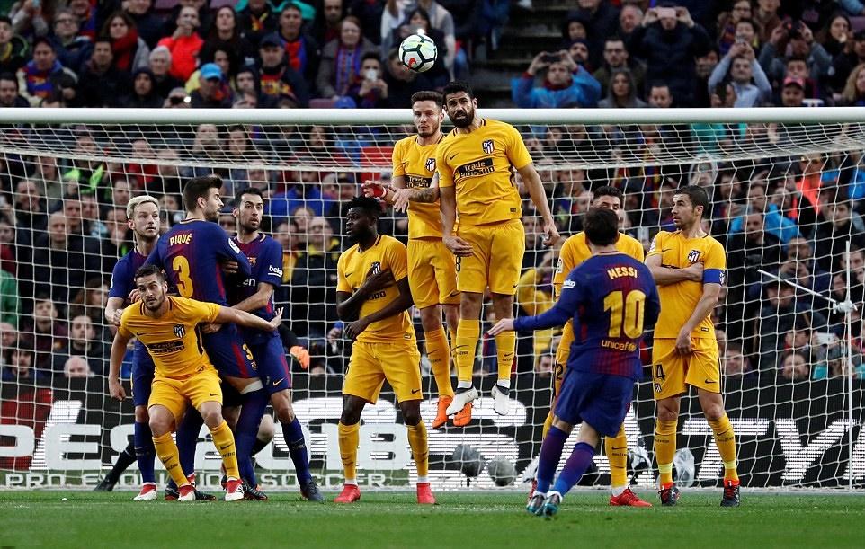Diego Simeone: Nếu có Messi, Atletico đã thắng Barcelona - Bóng Đá