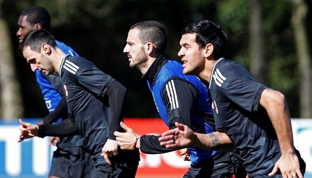Gattuso đốc thúc AC Milan tập luyện, quyết ngược dòng trước Arsenal - Bóng Đá
