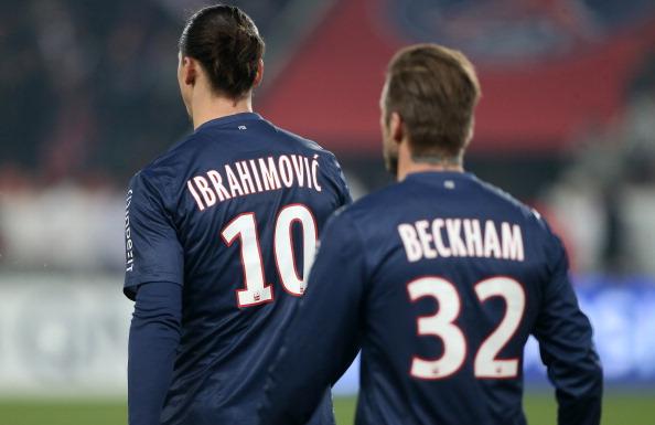 Beckham đã nói gì để Ibrahimovic đến LA Galaxy? - Bóng Đá