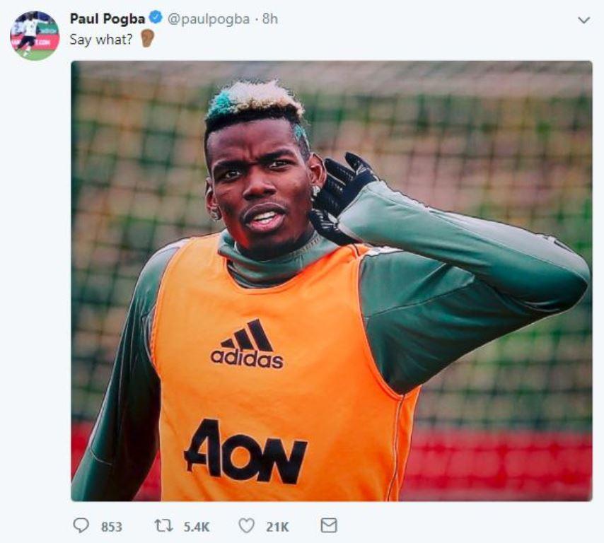 Pogba đáp trả trước thông tin bị bán cho Pep Guardiola - Bóng Đá