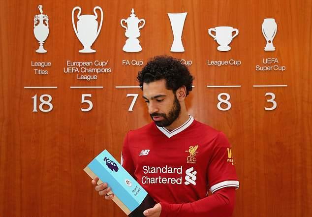 Nhận giải Cầu thủ xuất sắc nhất tháng, Salah làm nên lịch sử ở Ngoại hạng Anh - Bóng Đá