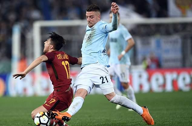 Milinkovic-Savic mất điểm trong mắt đội tuyển trạch Man Utd - Bóng Đá