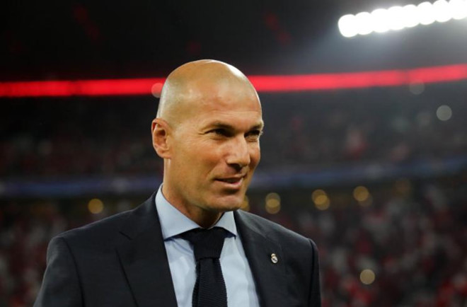 Zinedine Zidane thừa nhận Real Madrid gặp may - Bóng Đá