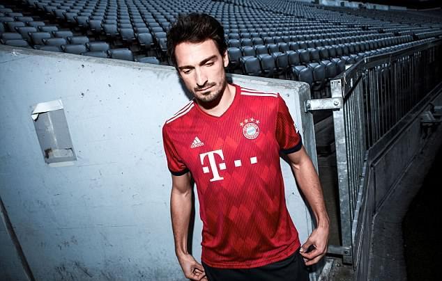 Bayern Munich ra mắt áo đấu mới cực đẹp - Bóng Đá