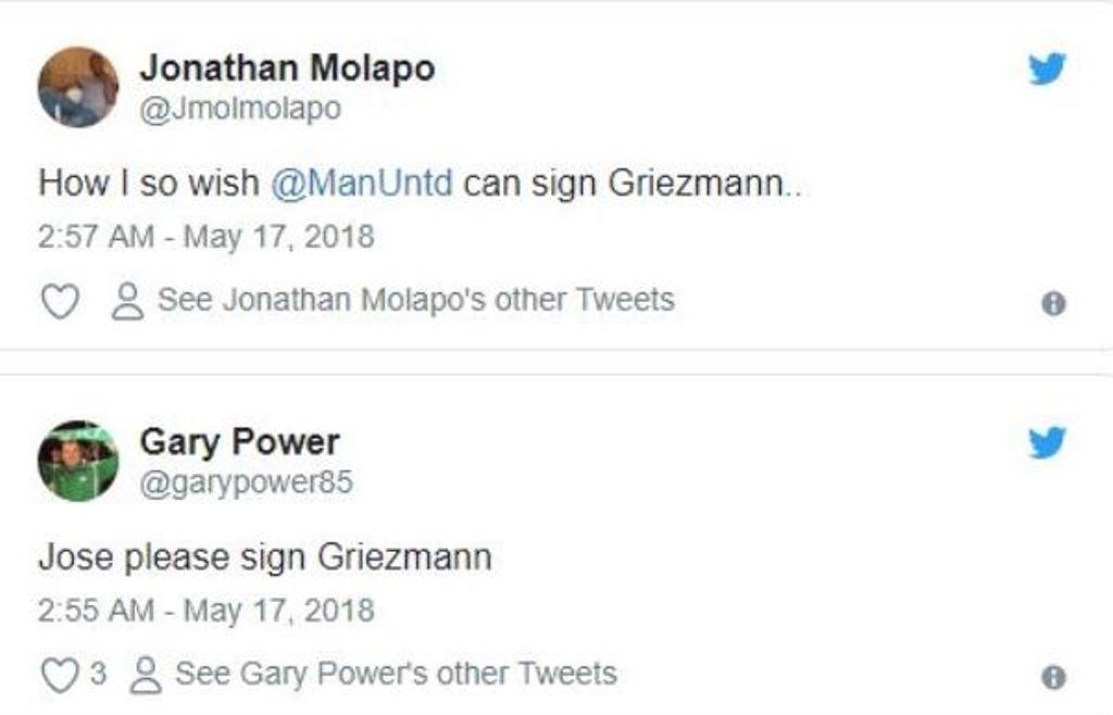 Griezmann khiến fan Quỷ đỏ 'đứng ngồi không yên' - Bóng Đá