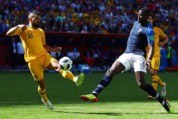 Mourinho 'can thiệp', Pogba bị tước mất bàn thắng - Bóng Đá