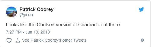 Nhìn Cuadrado thi đấu, fan Chelsea nhớ về Salah - Bóng Đá