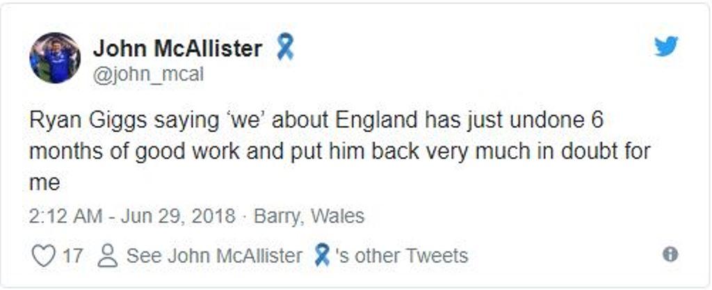 Ryan Giggs nói lời đáng xấu hổ trong buổi phân tích trận Anh - Bỉ - Bóng Đá