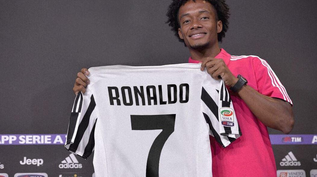 Cuadrado 'ngoan ngoãn' dâng áo số 7 cho Ronaldo - Bóng Đá