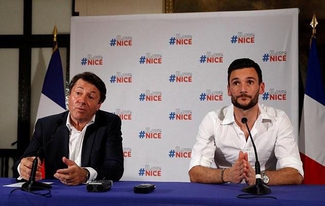 Hugo Lloris được tôn vinh như người hùng ở Nice - Bóng Đá