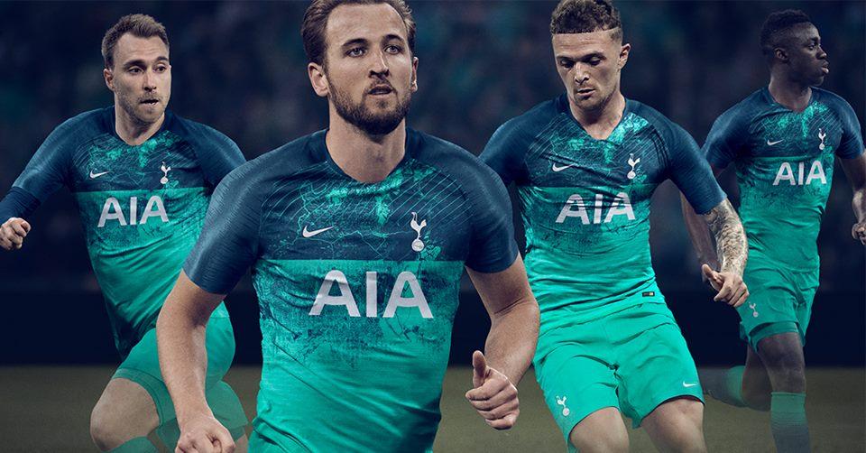 Cận cảnh áo đấu thứ 3 lạ lẫm của Tottenham Hotspur - Bóng Đá