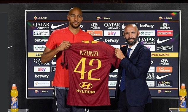 Steven N'Zonzi hé lộ lí do bỏ qua Arsenal để chọn AS Roma - Bóng Đá