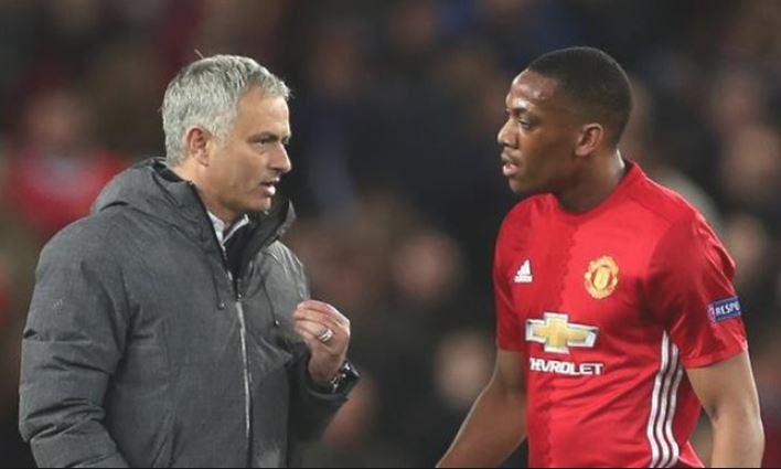 Đã rõ lí do Martial là cầu thủ duy nhất bị Mourinho phạt - Bóng Đá