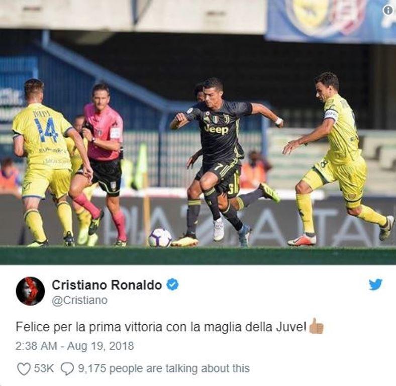 Ronaldo nói gì sau trận ra mắt - Bóng Đá
