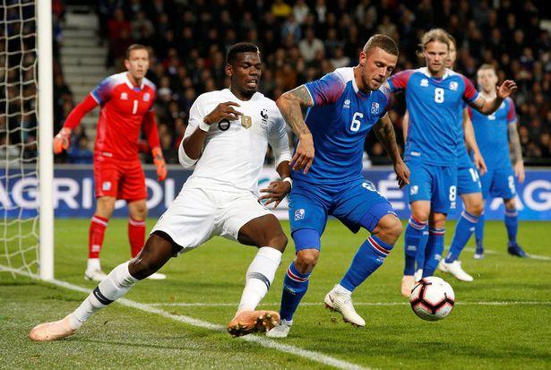 Người hâm mộ hiểu tại sao Pogba rời sân, Pháp ghi liền 2 bàn thắng - Bóng Đá