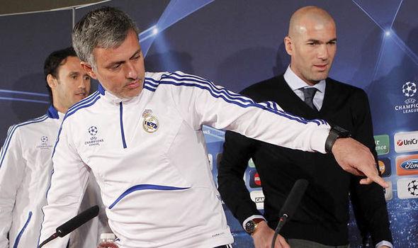 Zidane yêu cầu BLĐ Man Utd gửi thông điệp cho Mourinho - Bóng Đá