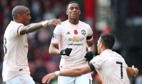 Martial được Mourinho trao vị trí mới - Bóng Đá