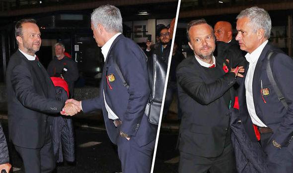 Woodward và Mourinho ở sân bay - Bóng Đá