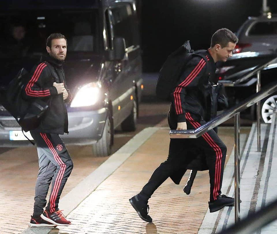 Man Utd đến khách sạn Lowry - Bóng Đá