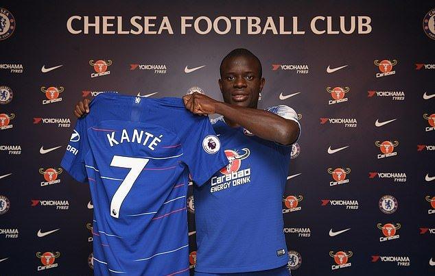 Chính thức: Kante gia hạn hợp đồng với Chelsea - Bóng Đá