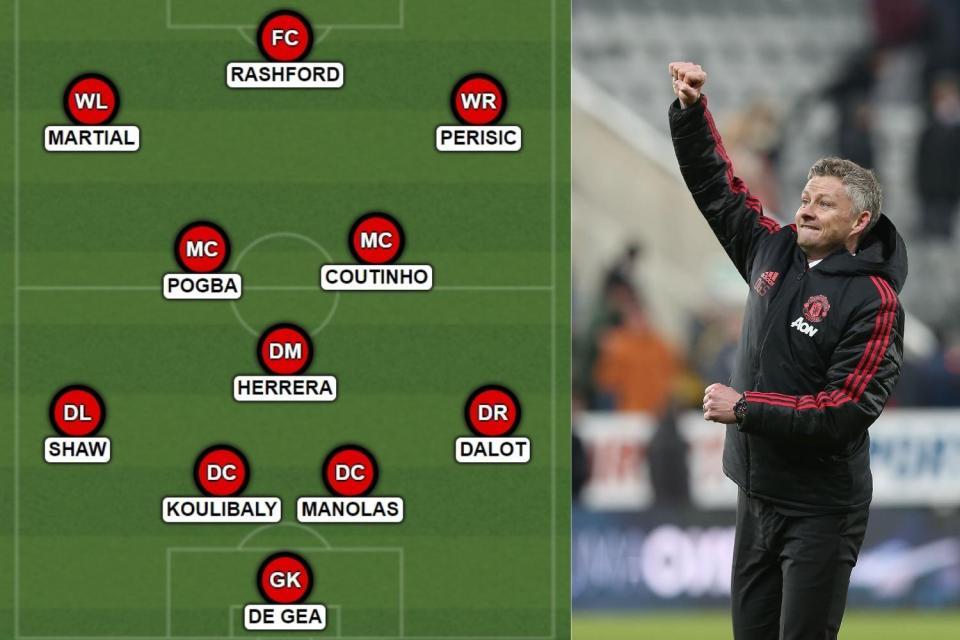 Coutinho, Koulibaly, Perisic; đây chính là đội hình trong mơ của Quỷ đỏ - Bóng Đá
