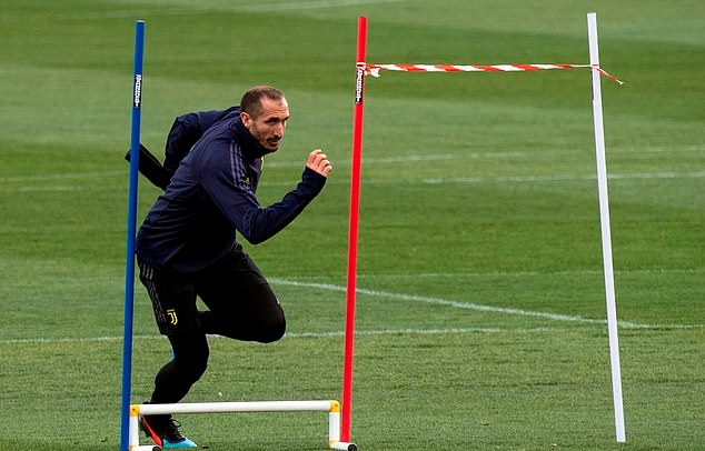 Juventus tập luyện tốc độ - Bóng Đá