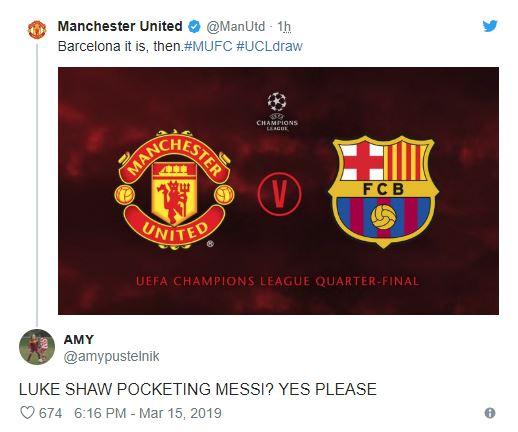 Fan MU chờ Shaw bỏ túi Messi - Bóng Đá