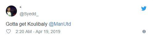 Fan Man Utd quay ngoắt 180 độ vì Koulibaly  - Bóng Đá