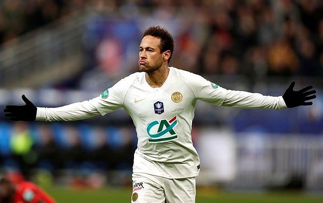 Neymar trở lại và ghi bàn, PSG vẫn thua sốc và mất cúp quốc gia Pháp - Bóng Đá