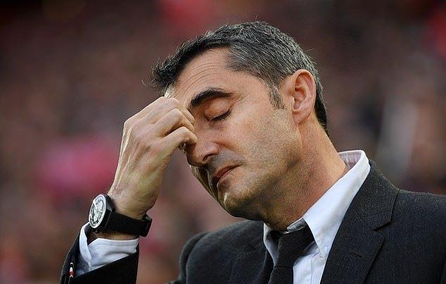 Ernesto Valverde đau đớn: