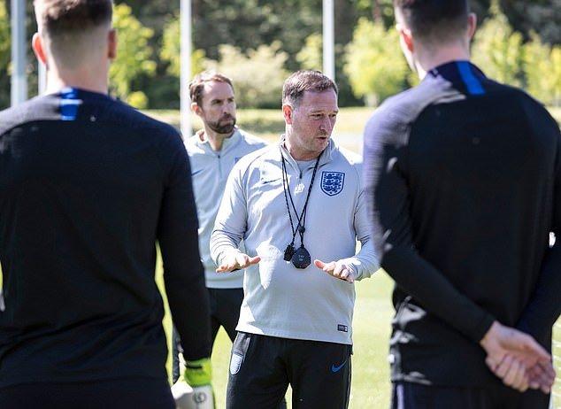 Đội tuyển Anh tập - Bóng Đá