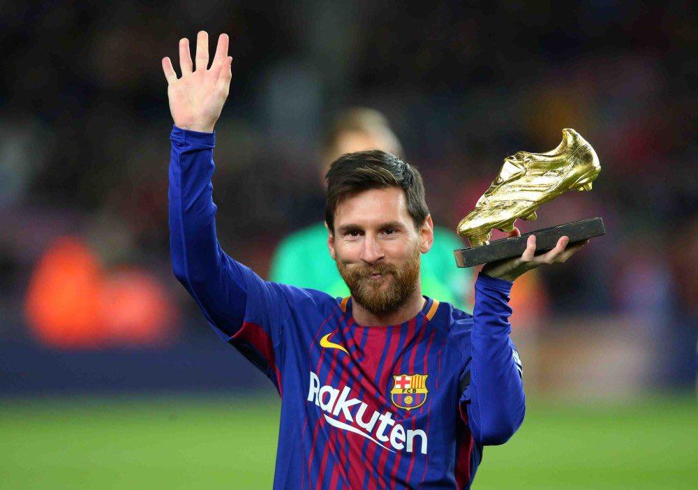 Messi giành giày vàng - Bóng Đá