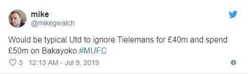 'Are we a joke?' Man United fans react as Tiemoue Bakayoko linked with shock Chelsea transfer - Bóng Đá