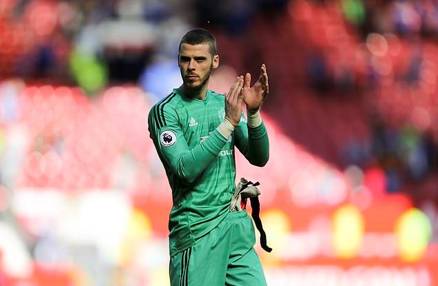 David De Gea set to sign new £375,000-a-week Manchester United  - Bóng Đá