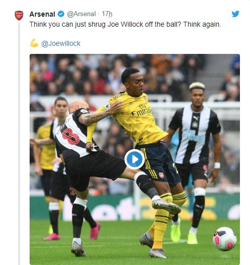 ARSENAL FANS REACT TO JOE WILLOCK'S STAR SHOWING AGAINST NEWCASTLE AS THE 19Y/O IMPRESSES YET AGAIN - Bóng Đá