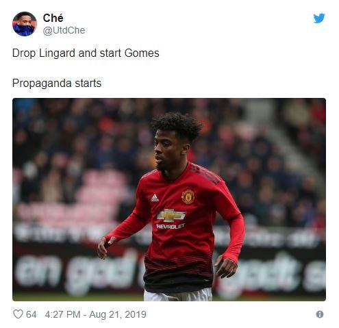 Loads of Man Utd fans call for Solskjaer to start 18-year-old ahead of Jesse Lingard - Bóng Đá