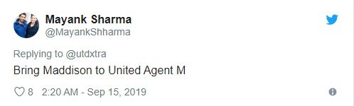 'Sign them both' – These Manchester United fans excited by 'Agent' Maguire's social media post - Bóng Đá