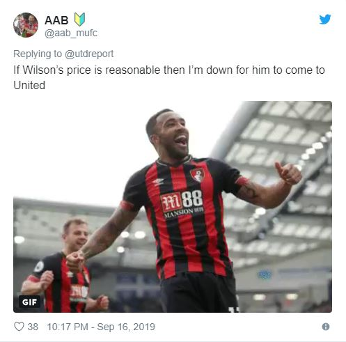 Man Utd fans react to interest in Bournemouth hotshot Callum Wilson - Bóng Đá
