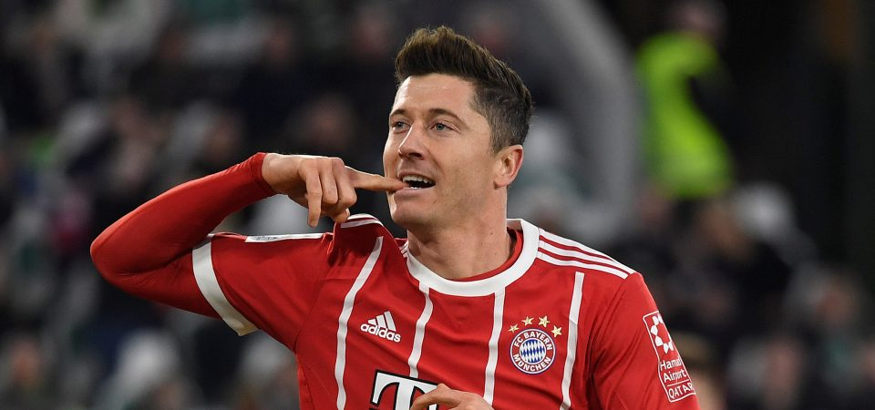 Man Utd fans drool over Robert Lewandowski's goal-scoring display against Spurs - Bóng Đá