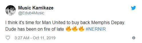 'Depay Please come back to United': Loads of Man Utd fans react as former player scores brace on international duty - Bóng Đá