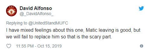 Manchester United fans split on the news Nemanja Matic could leave in January - Bóng Đá