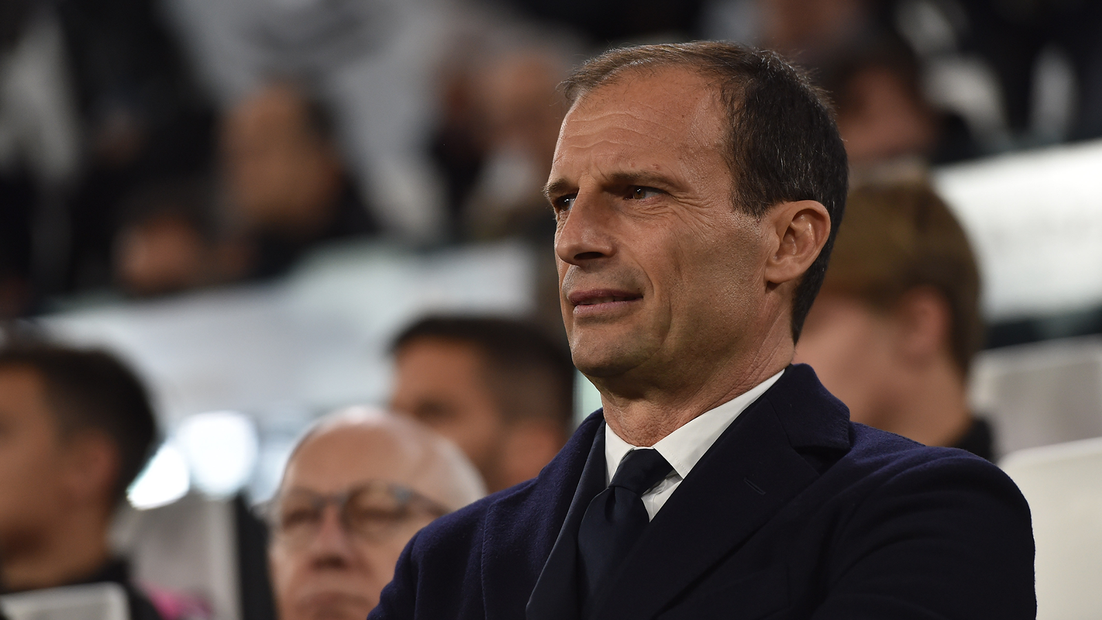 Allegri plays down Man Utd reports: I don't speak enough English yet! - Bóng Đá