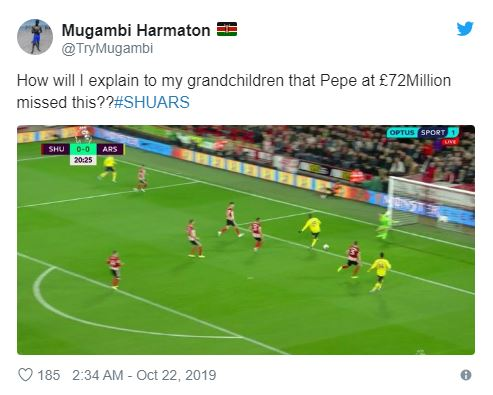 '£70m down the drain!' - Manchester United fans send Nicolas Pepe transfer message to Arsenal - Bóng Đá