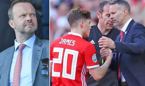 Man Utd chief Ed Woodward responds to Ryan Giggs swearing about Daniel James - Bóng Đá